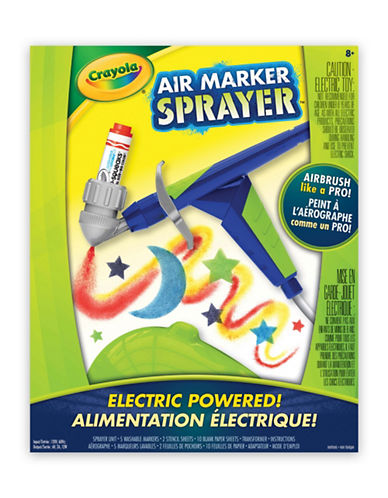 Crayola Air Marker Sprayer-MULTI-One Size