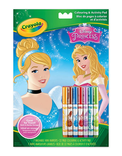 Crayola Princess Colour and Activity Book-MULTI-One Size