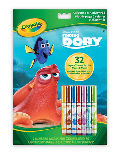Crayola Dory Colour and Activity Book-MULTI-One Size