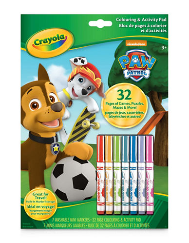 Crayola Paw Patrol Colouring and Activity Book-ASSORTED-One Size