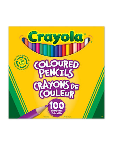 Crayola 100-Pack Coloured Pencils-MULTI-One Size