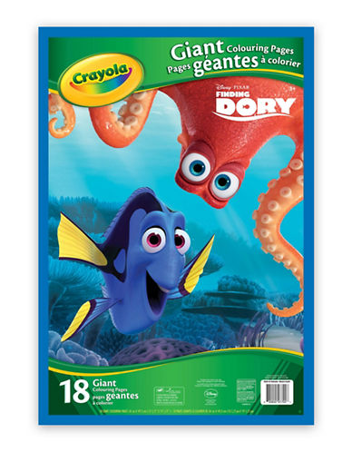 Crayola Finding Dory Giant Colouring Pages-MULTI-One Size