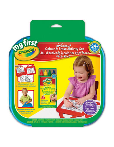 Crayola My First Colour and Erase Set-MULTI-One Size 88674364_MULTI_One Size
