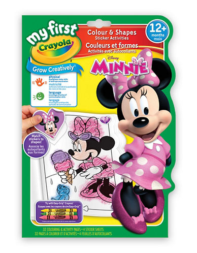 Crayola Minnie My First Colour and Shapes-MULTI-One Size