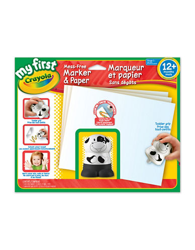 Crayola My First Mess Free Marker and Paper-MULTI-One Size