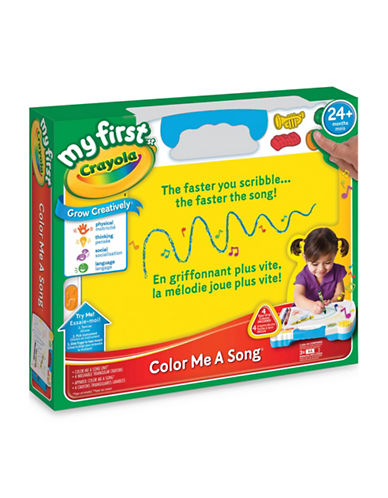 Crayola My First Colour Me a Song-MULTI-One Size