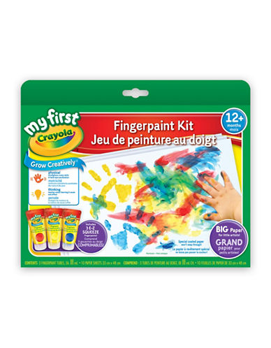 Crayola My First Fingerpaint Kit-MULTI-One Size