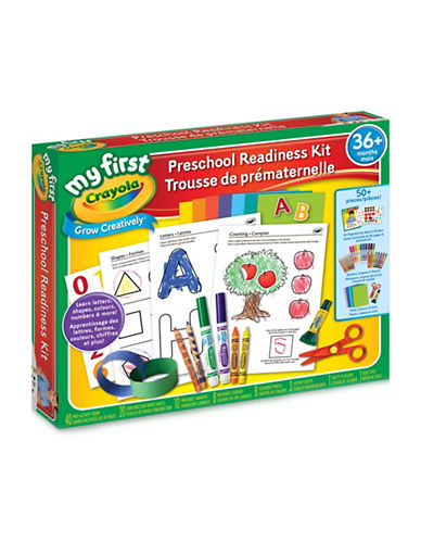 Crayola My First Preschool Readiness Kit-MULTI-COLOURED-One Size