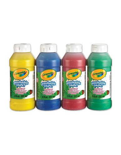 Crayola Four-Bottle Washable Paint Set-MULTI-One Size