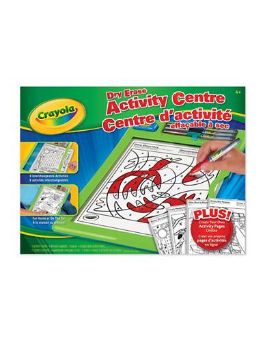 Crayola Dry-Erase Activity Centre-MULTI-One Size