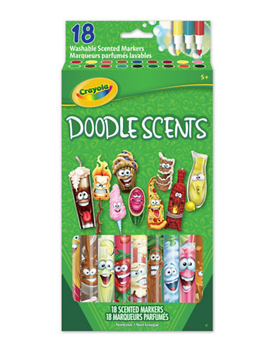 Crayola 18-Pack Doodle Scents-MULTI-One Size