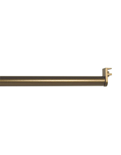 Versailles Home Fashions Double Up Rod-ANTIQUE BRASS-42-78 Inches