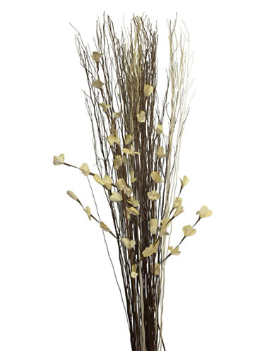Natural Woodland Botanicals Tall White Lady Bouquet-WHITE-One Size