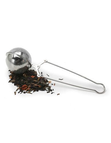 Danesco Laser-Cut Tea Infuser Tongs-SILVER-One Size