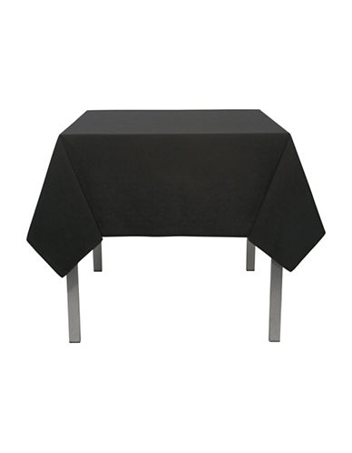 Now Designs Spectrum Table Cloth - 60 x 108-BLACK-One Size
