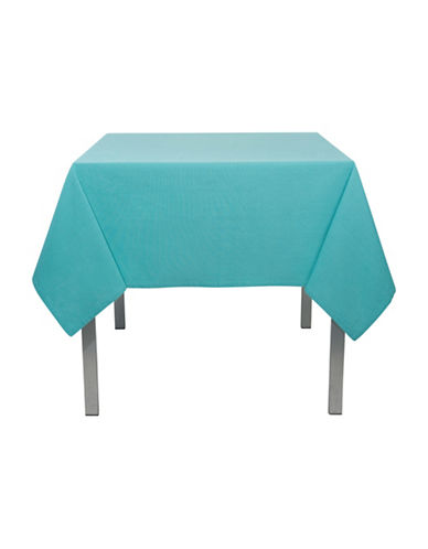 Now Designs Round Spectrum Tablecloth-TURQUOISE-60