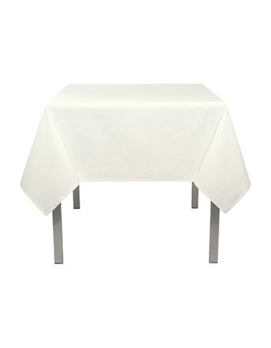Now Designs Round Spectrum Tablecloth-IVORY-60