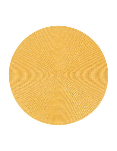 Now Designs Disko Placemat-HONEY-15in