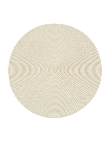 Now Designs Disko Placemat-IVORY-15in