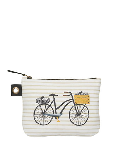 Danica Bicicletta Large Zip Pouch-MULTI-COLOURED-Large