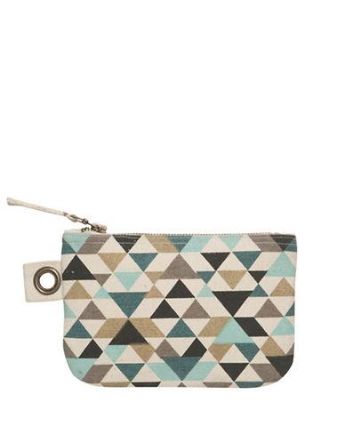 Danica Tessellate Small Zip Pouch-MULTI-COLOURED-One Size
