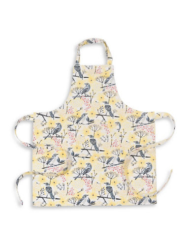 Now Designs Basic Mockingbird Cotton Apron-YELLOW-One Size