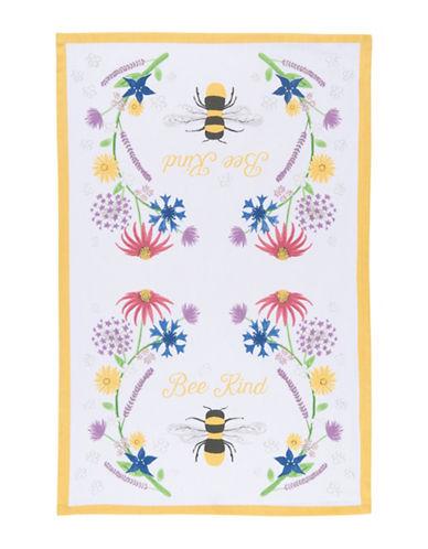 Now Designs Bee Kind Cotton Dishtowel-MULTI-Kitchen Towel