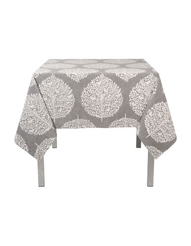 Now Designs Elmwood Print Tablecloth-GREY-One Size