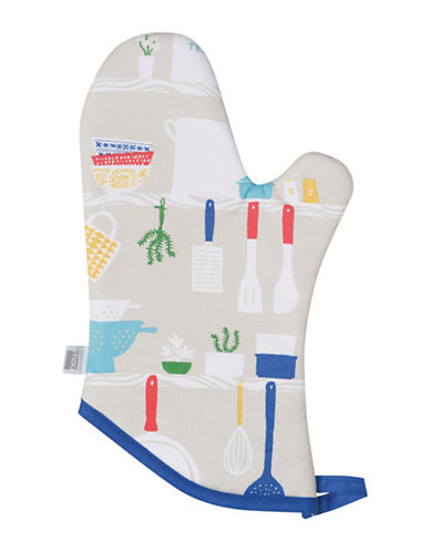 Now Designs Cooks Oven Mitt-MULTI-One Size