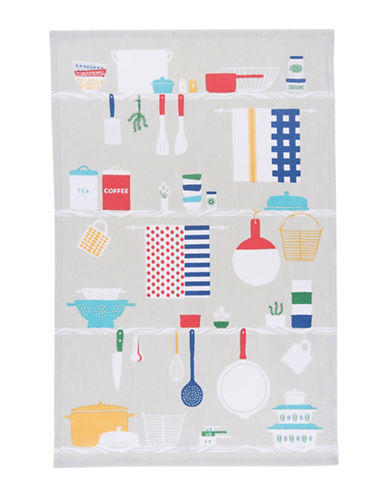 Now Designs Cooks Cotton Tea Towel-MULTI-One Size