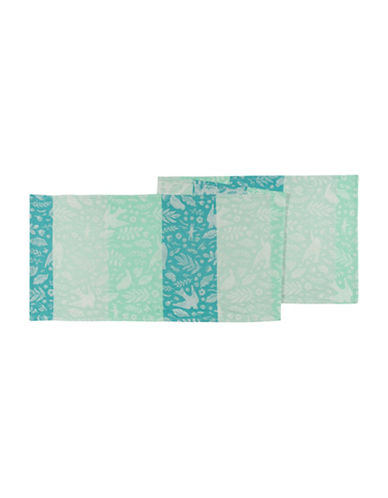Now Designs Meadowlark Table Runner-GREEN-One Size