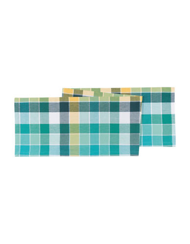Now Designs Field Day Table Runner-BLUE-One Size