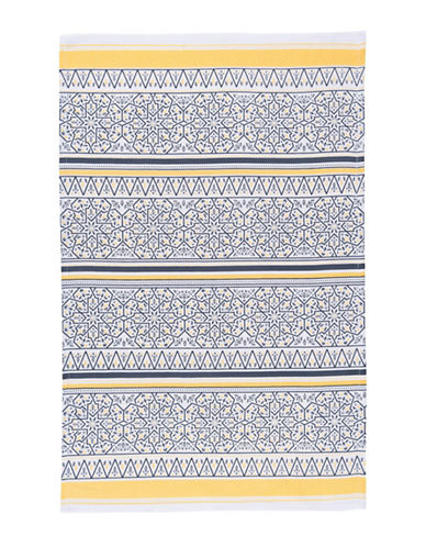 Now Designs Medina Cotton Dishtowel-MULTI-Kitchen Towel