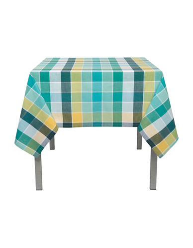 Now Designs Field Day Table Cloth-BLUE-One Size