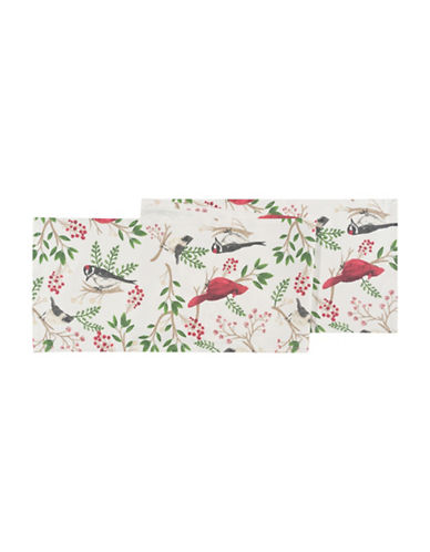 Now Designs Winter Birds Cotton Table Runner-MULTI-One Size