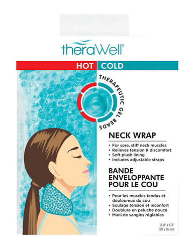 Upper Canada Soap And Candle Co Therawell Hot and Cold Therapy Body Wrap-TEAL-One Size