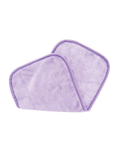Upper Canada Soap And Candle Co Erase Your Face Reusable Make-Up Removing Cloth-PURPLE-One Size