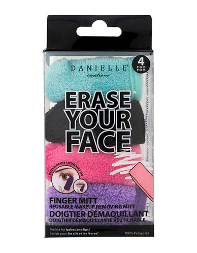 Upper Canada Soap And Candle Co Erase Your Face Finger Mitt Set-ASSORTED-One Size