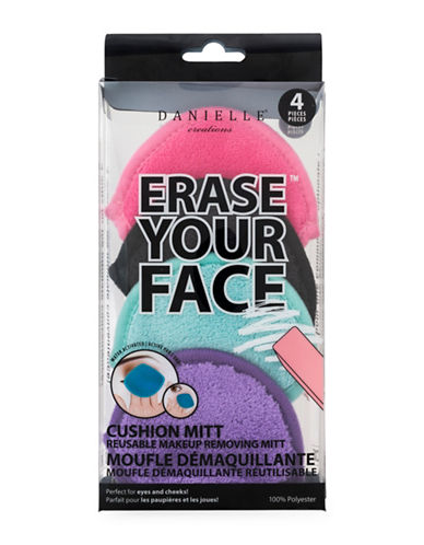 Upper Canada Soap And Candle Co Erase Your Face Cushion Mitt Set-ASSORTED-One Size
