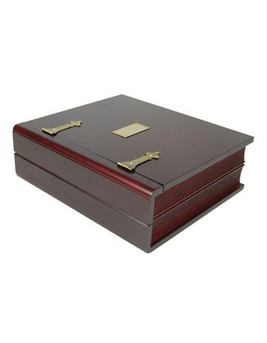 Gunther Mele Keepsake Jewellery Box-BROWN-One Size