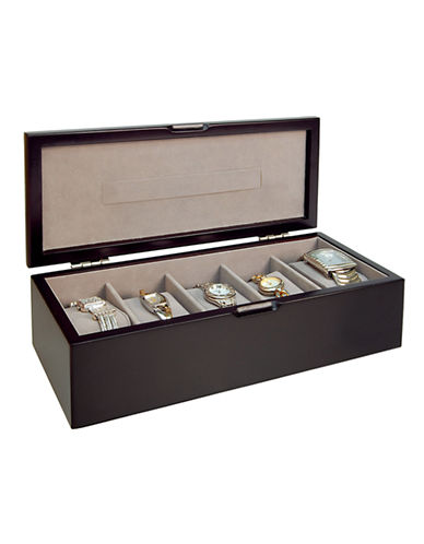 Gunther Mele Java watch box-ESPRESSO-One Size