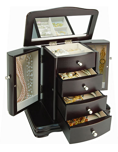 Gunther Mele Java Petite Armoire Style Jewellery Box-NO COLOUR-One Size