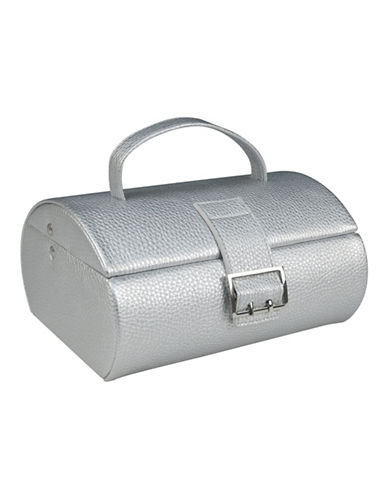 Gunther Mele Eden Travel Jewellery Case-GREY-One Size
