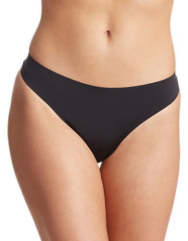 Lord & Taylor Laser-Cut Thong-BLACK-Small