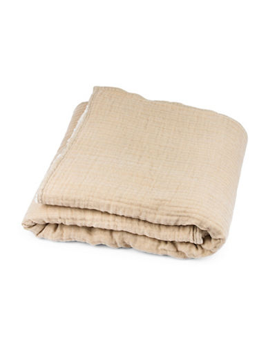 Drake General Store Warm Throw Blanket-BEIGE-One Size