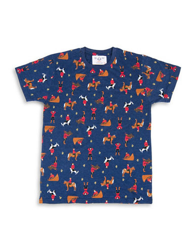 Drake General Store Arborist Cotton Tee-NAVY-Small