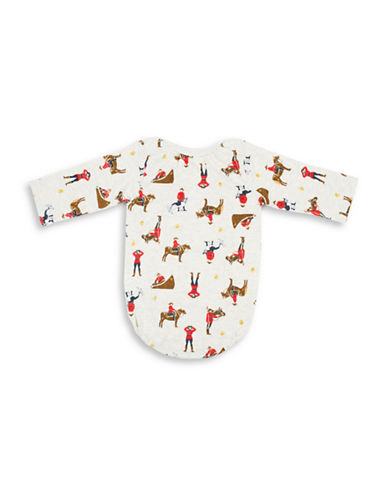 Drake General Store Babys Arborist Cotton Coverall-BEIGE-0-6 Months