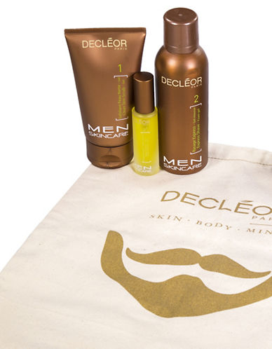 Decleor Fathers Day Shave Shoe Bag Three-Piece Set-NO COLOR-No Size