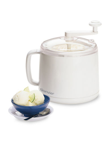 Cuisipro Ice Cream Maker-WHITE-One Size