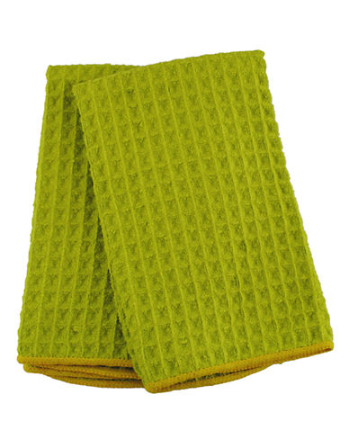 Jamie Oliver Set of 2 Microfiber Barmops-GREEN-16 x 19 Inches